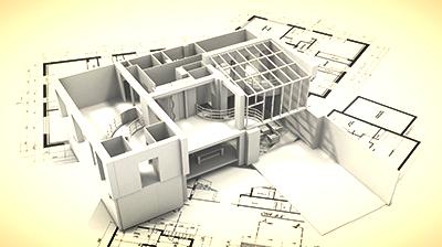 BIM model in načrti za pridobitev gradbenega dovoljenja