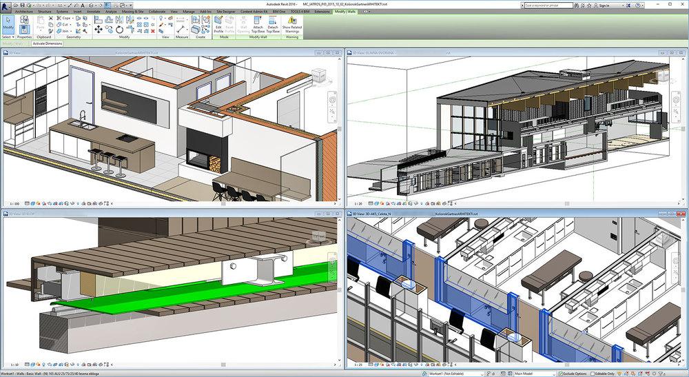BIM omogoča sodoben, pametnejši način gradnje in projektiranja.