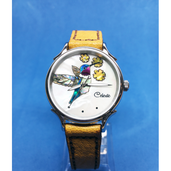 Celeste Watch yellow band