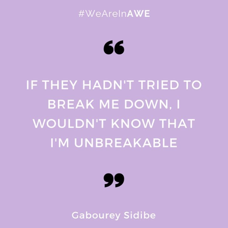 Quote by Gabourey Sidibe