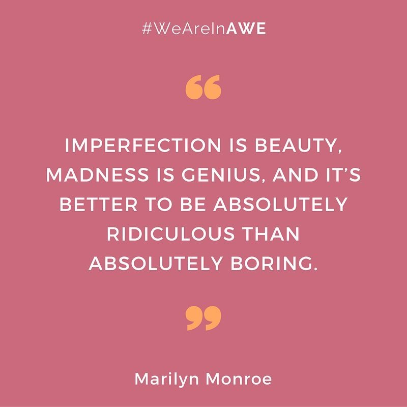 Quote b Marilyn Monroe