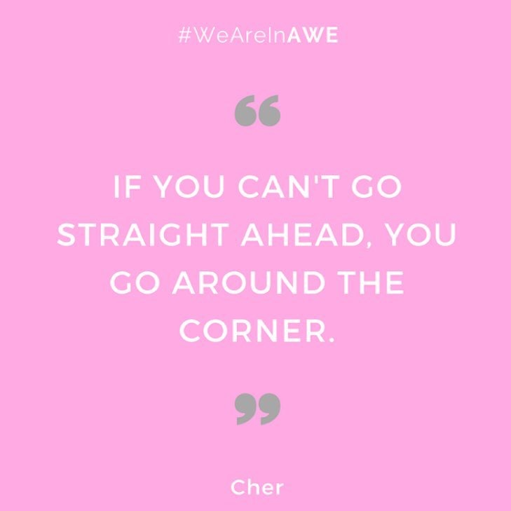 Quote by Cher