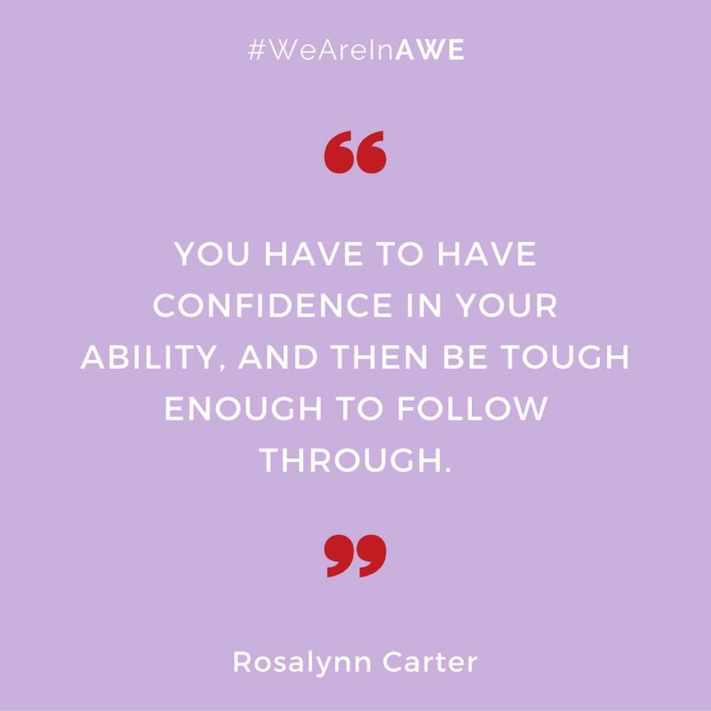 Quote by Rosalyn Carter
