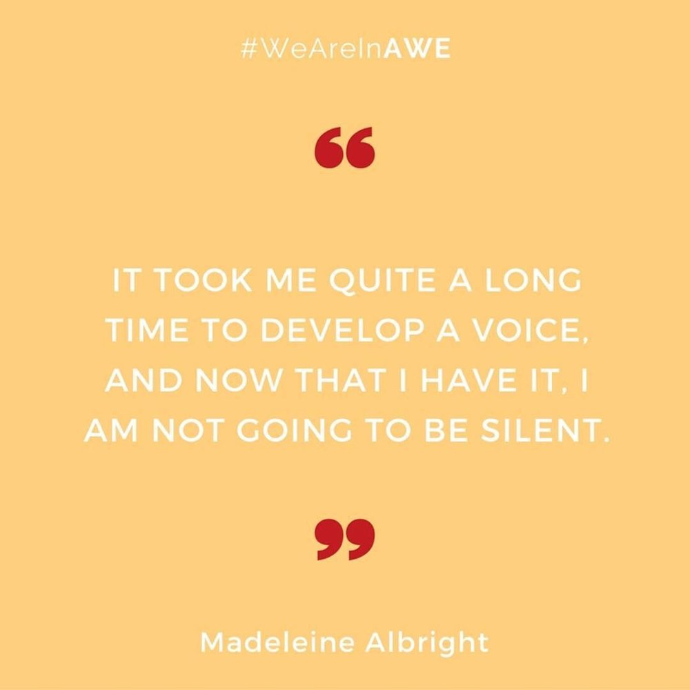 Quote by Madeleine Albright