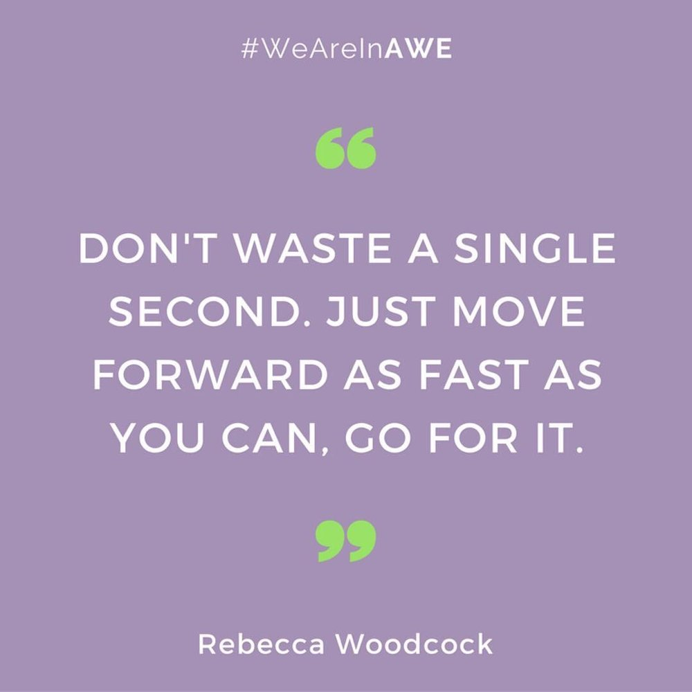 Quote by Rebecca Woodcock