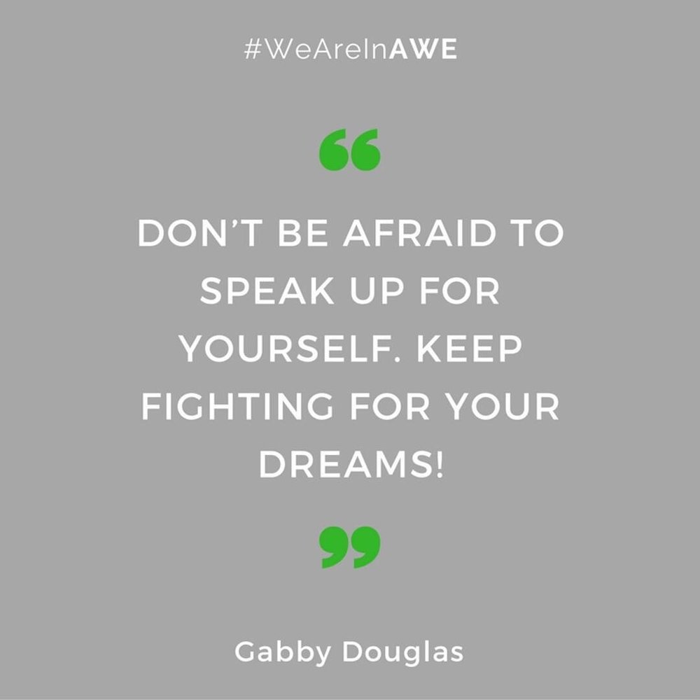 Quote by Gabby Douglas