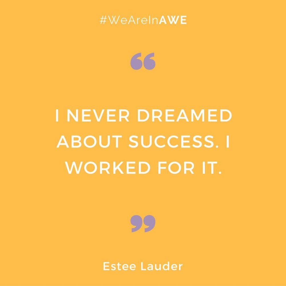 Quote by Estee Lauder