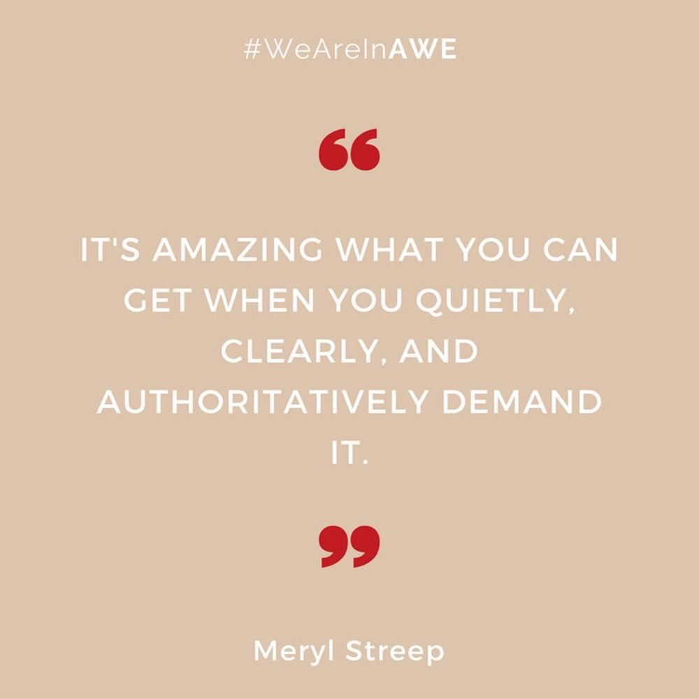Quote by Meryl Streep