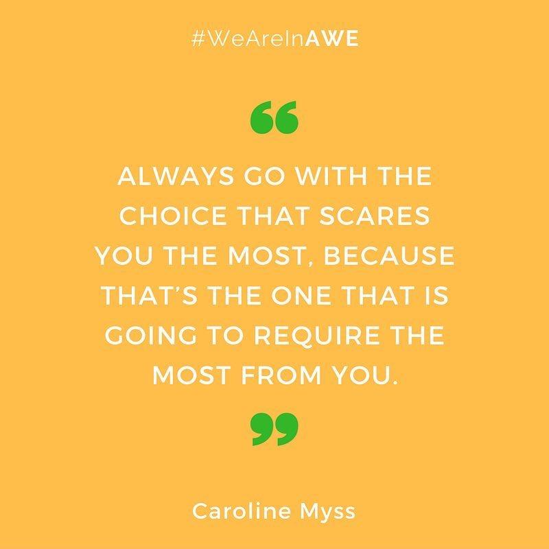 Quote by Caroline Myss