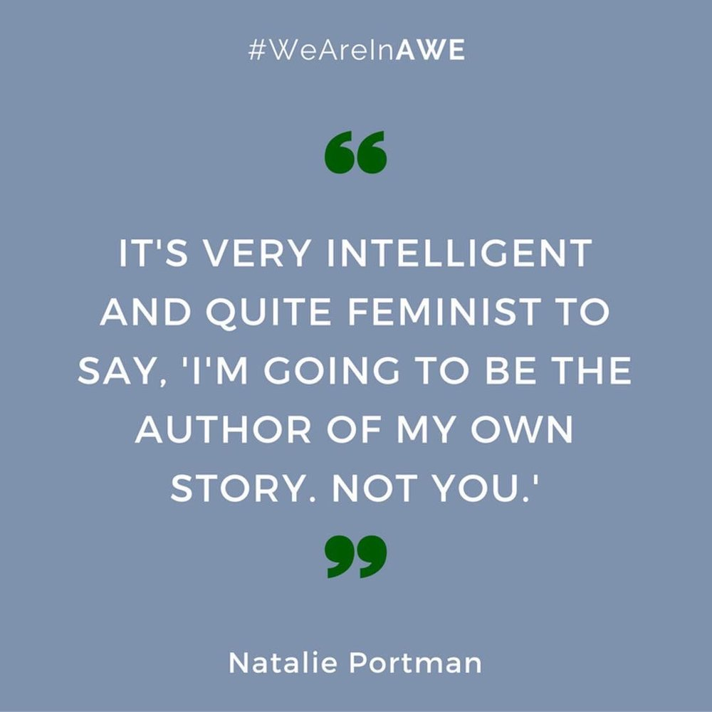 Quote by Natalie Portman