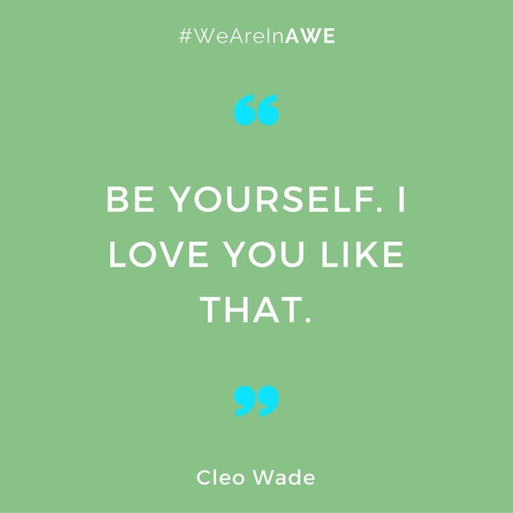 Quote by Cleo Wade