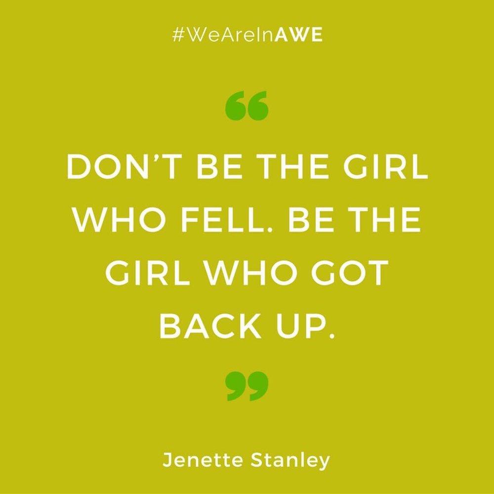Quote by Jenette Stanley