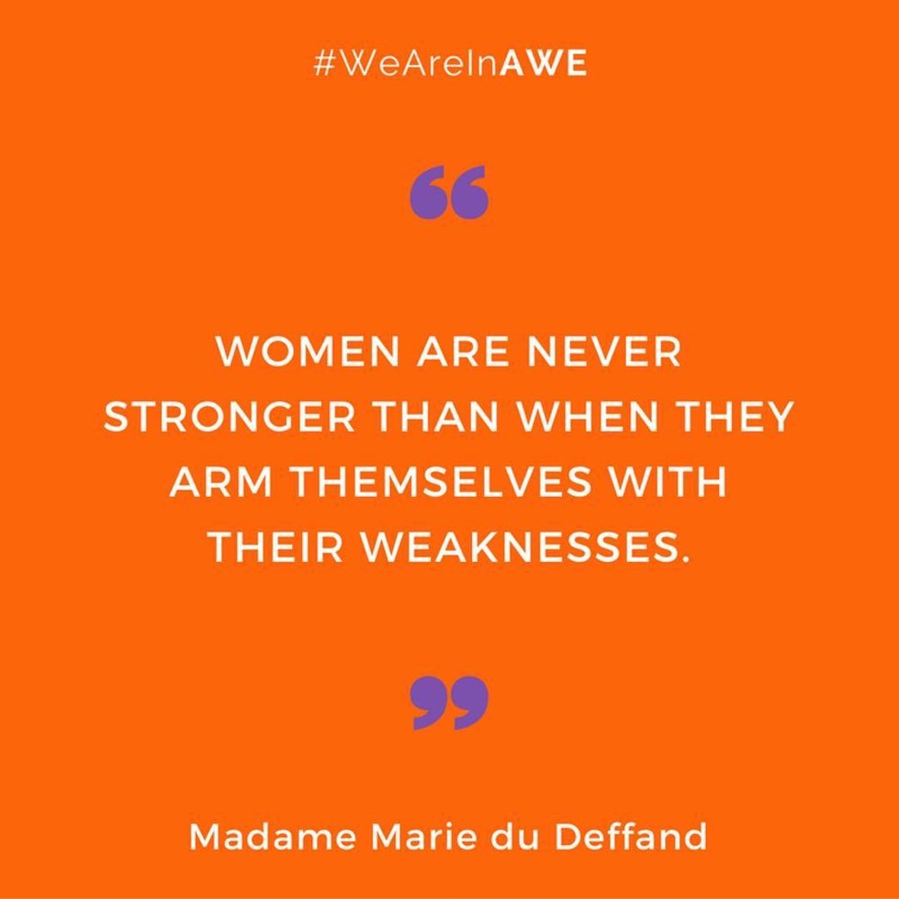 Quote by Madame Marie du Deffand