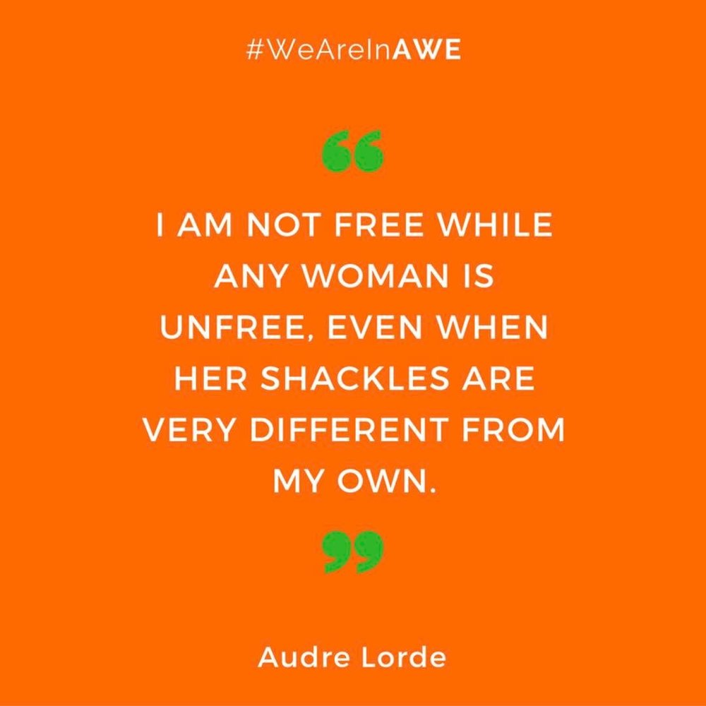 Quote by Audre Lorde