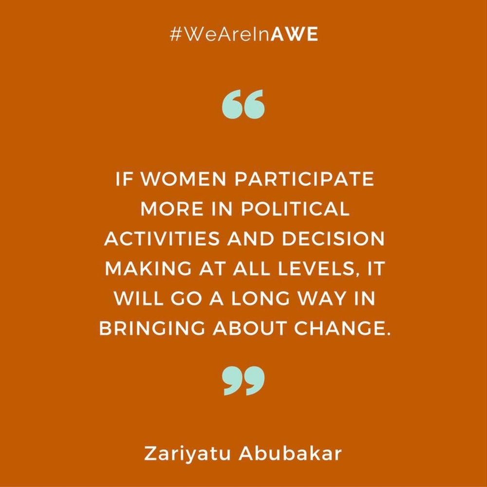 Quote by Zariyatu Abubakar