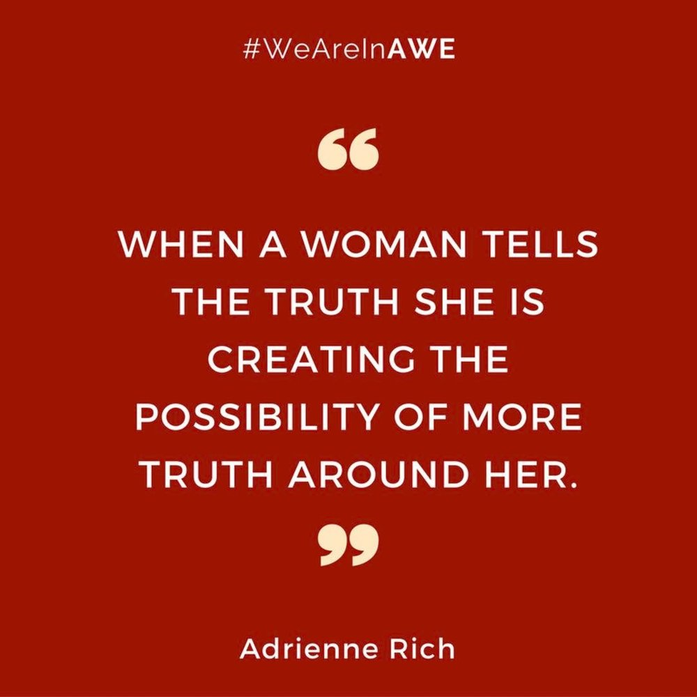 Quote by Adrienne Rich