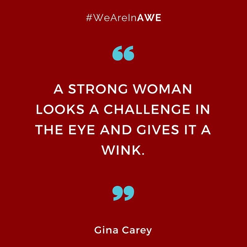 Quote by Gina Carey