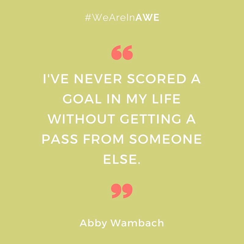 Quote by Abby Wambach