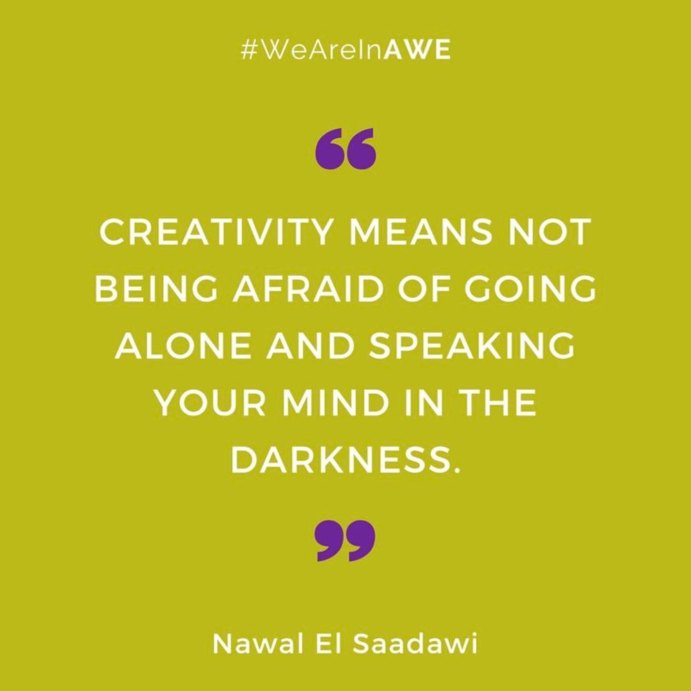 Quote by Nawal El Saadawi