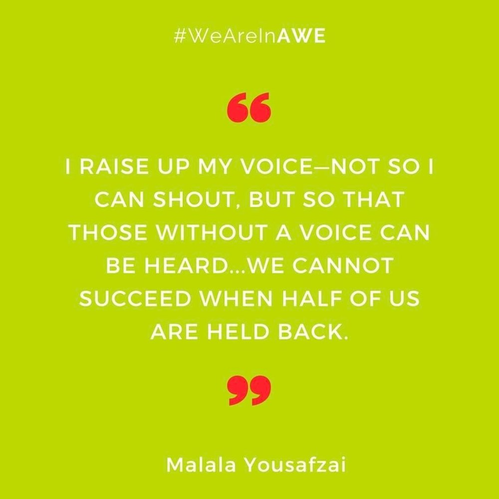 Quote by Malala Yousafzai