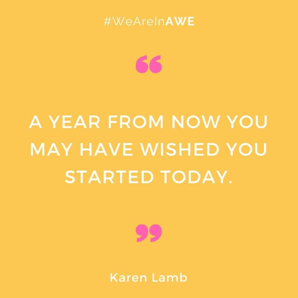 Quote by Karen Lamb