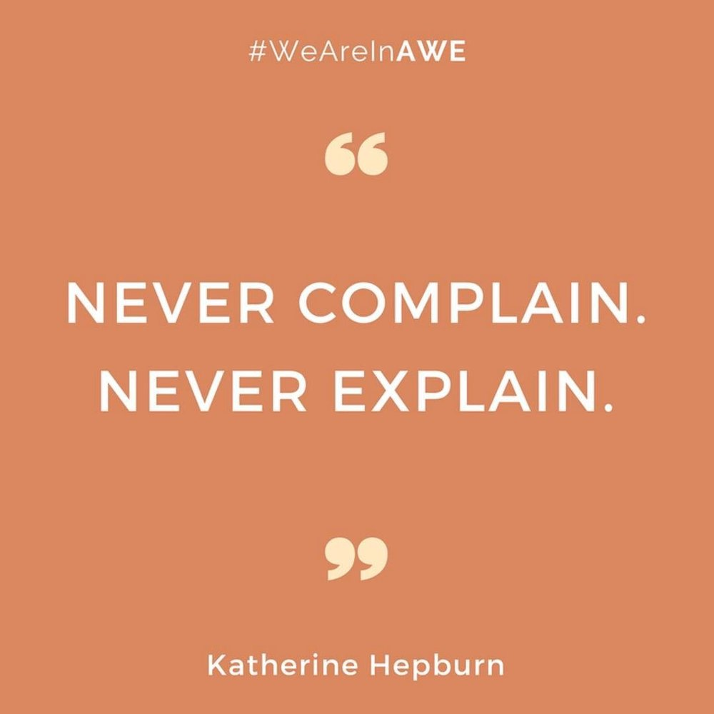 Quote by Katherine Hepburn