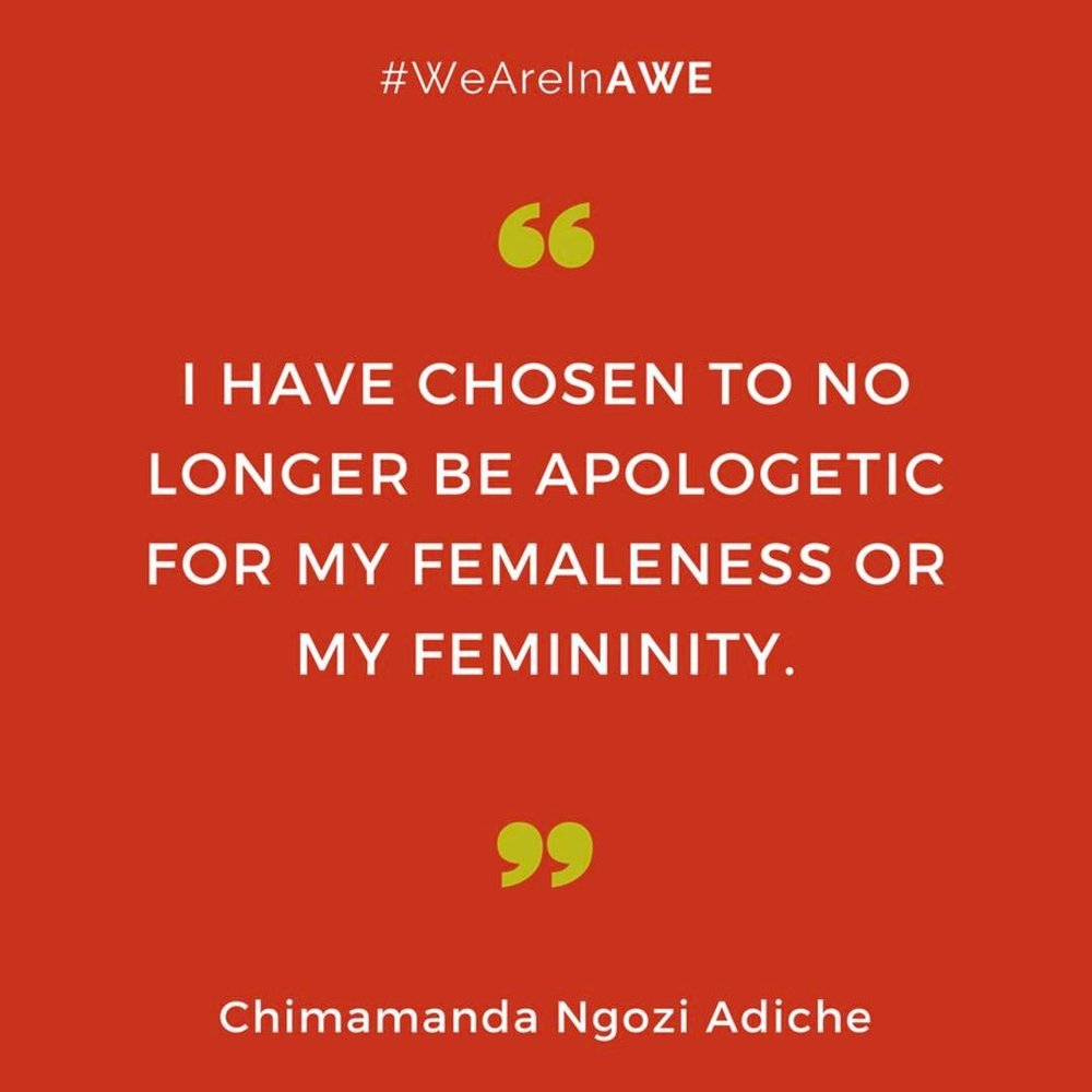 Quote by Chimamanda Ngozi Adiche