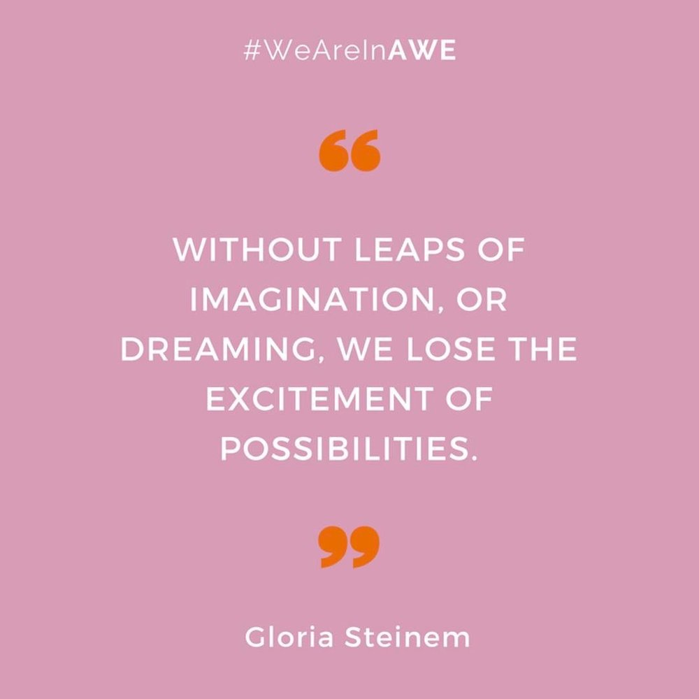 Quote by Gloria Steinem