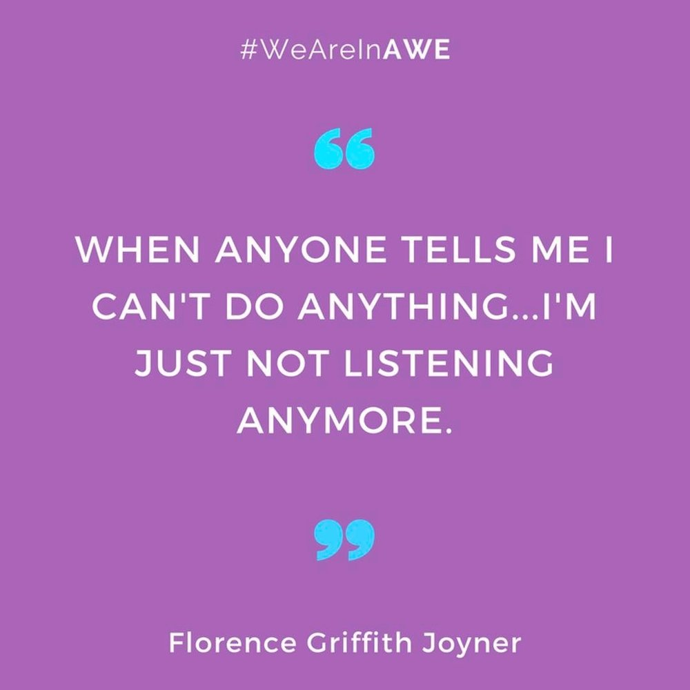 Quote by Florence Griffith Joyner