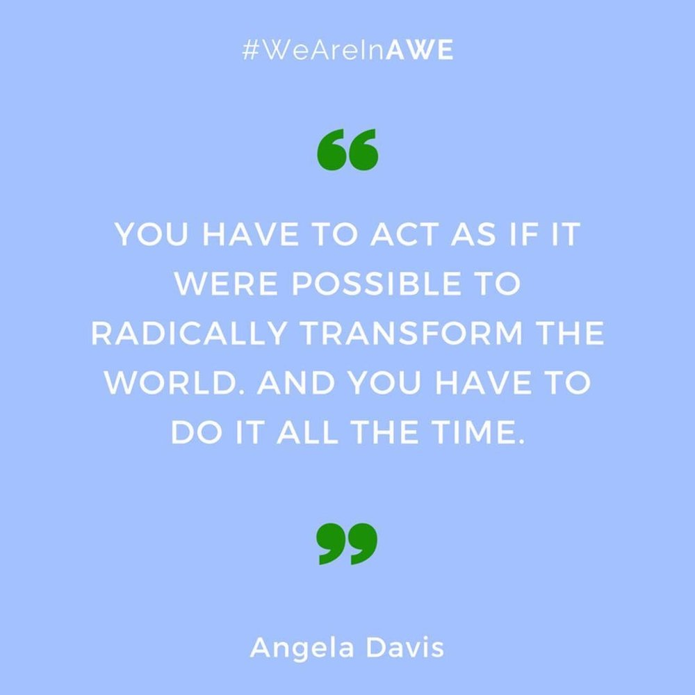 Quote by Angela Davis