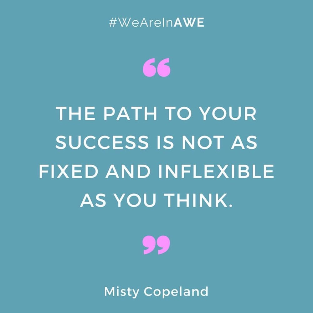 Quote by Misty Copeland