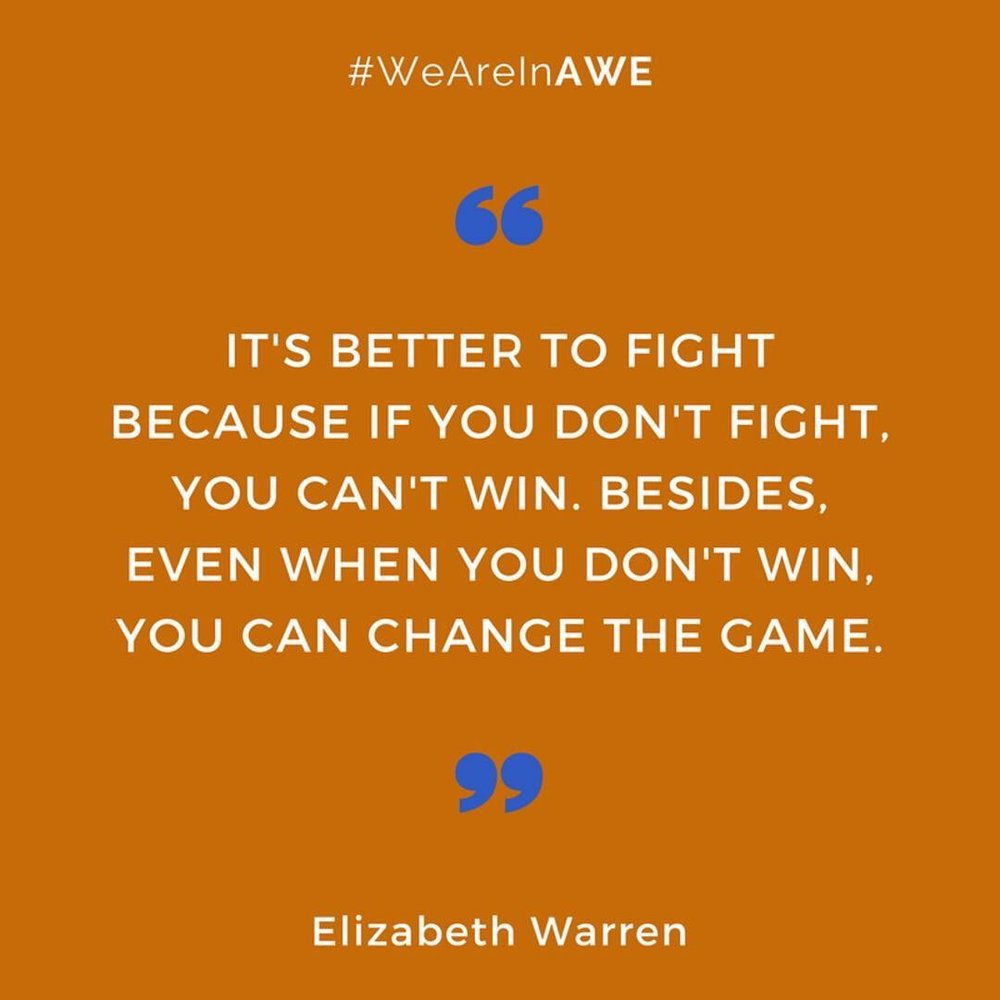 Quote by Elizabeth Warren