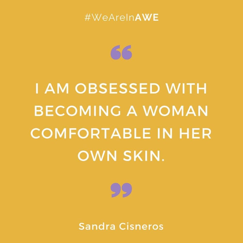Quote by Sandra Cisneros