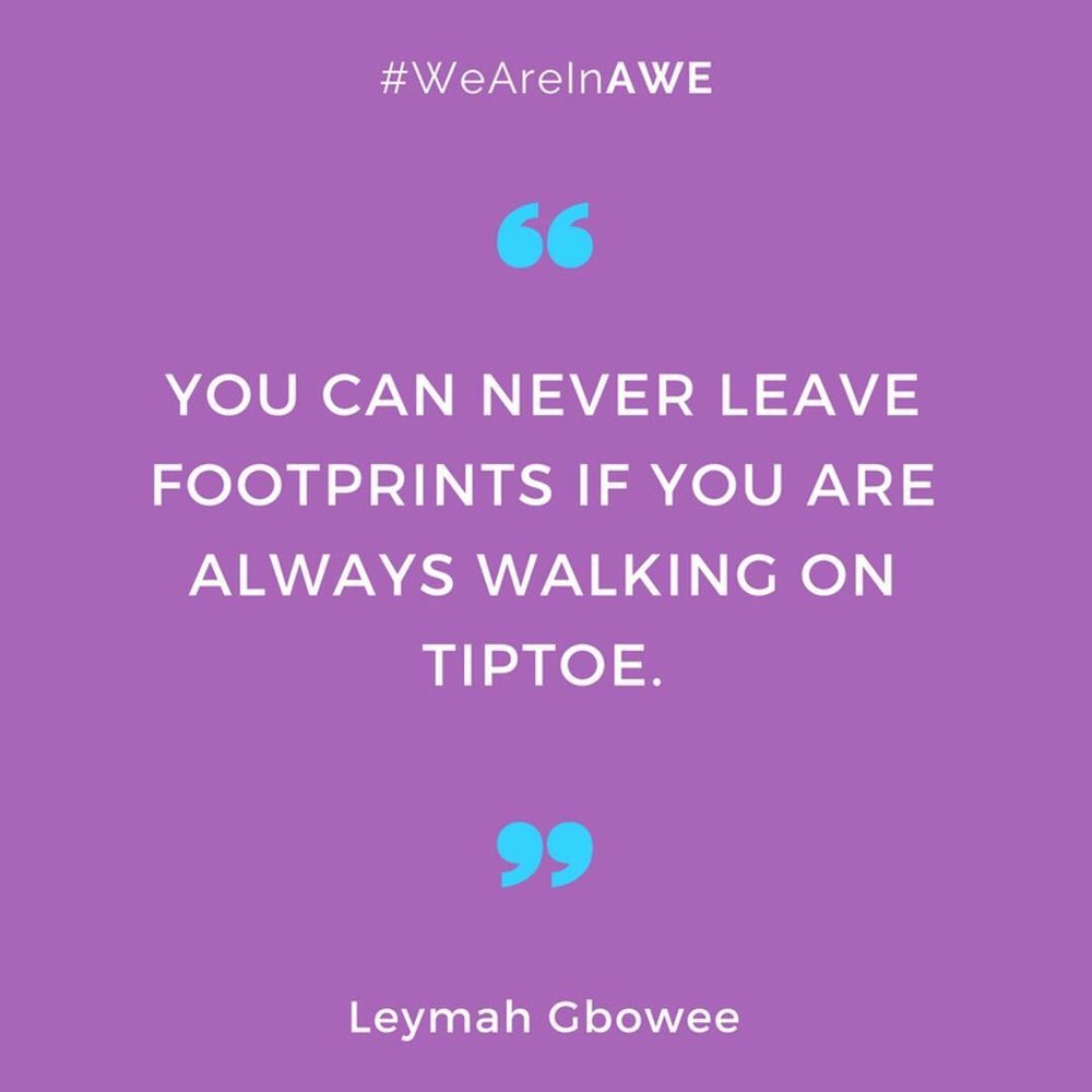 Quote by Leymah Gbowee