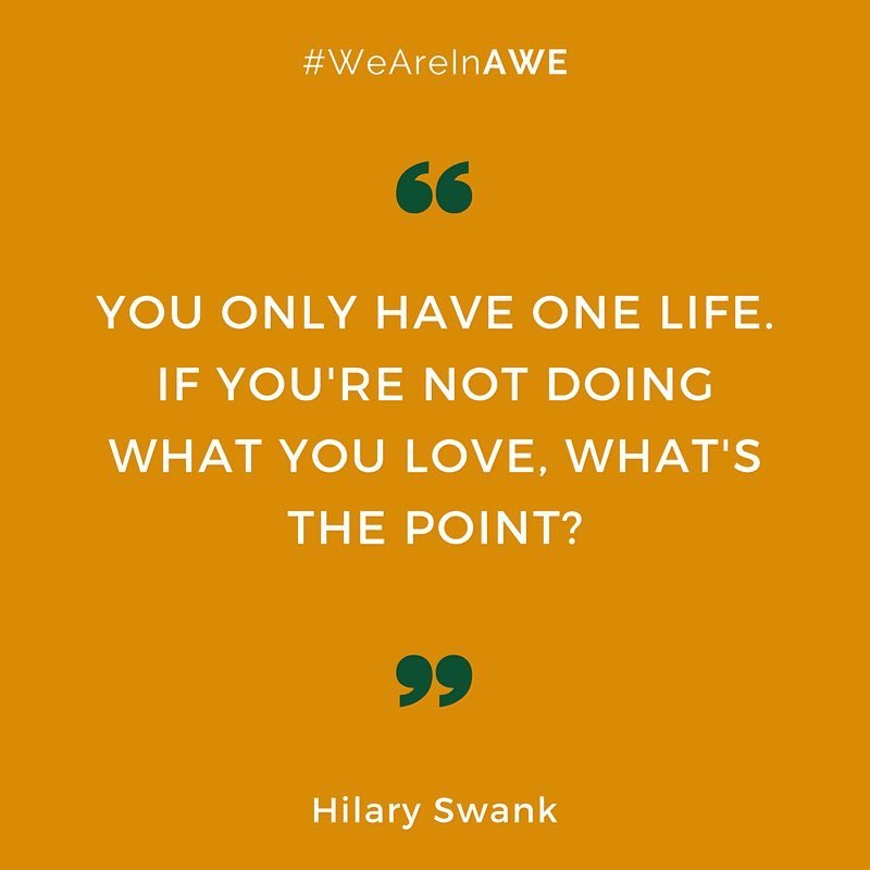 Quote by Hilary Swank