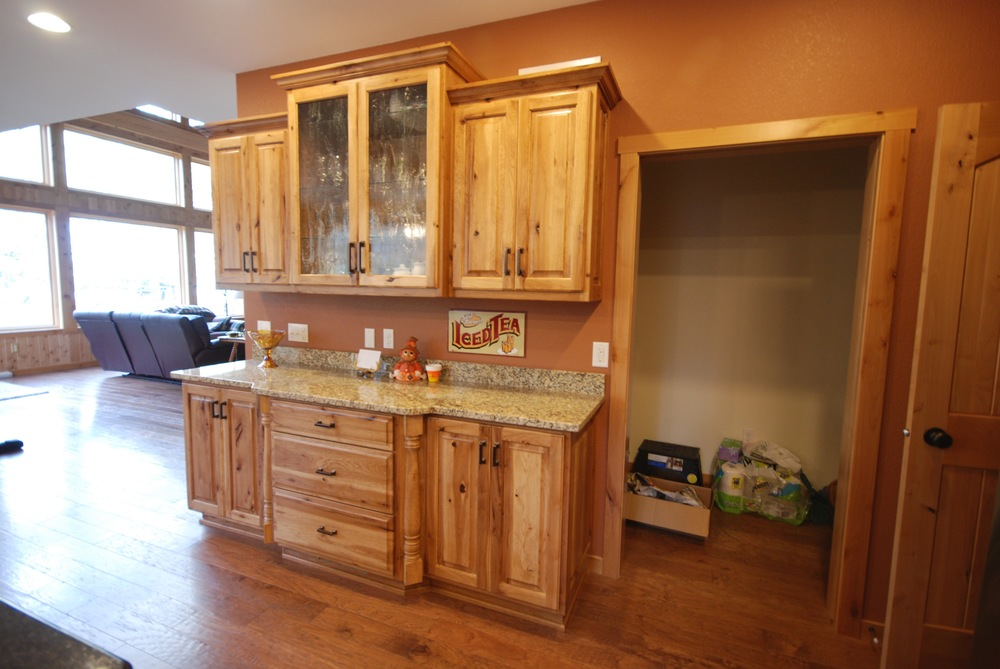 11-1.3  Raised Panel - Stained Hickory