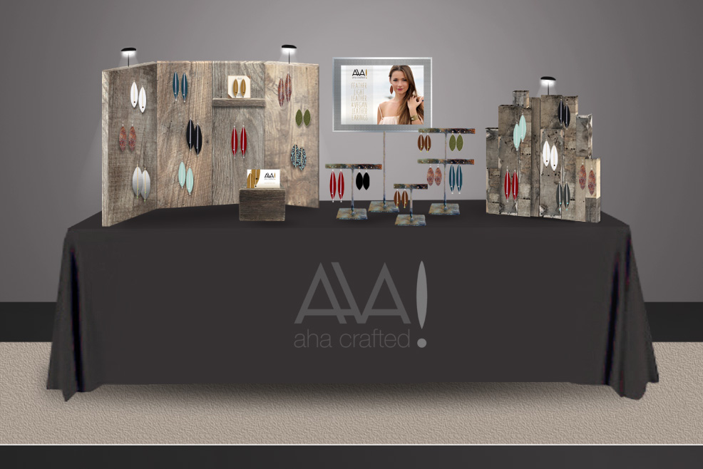 Aha Crafted Display Design