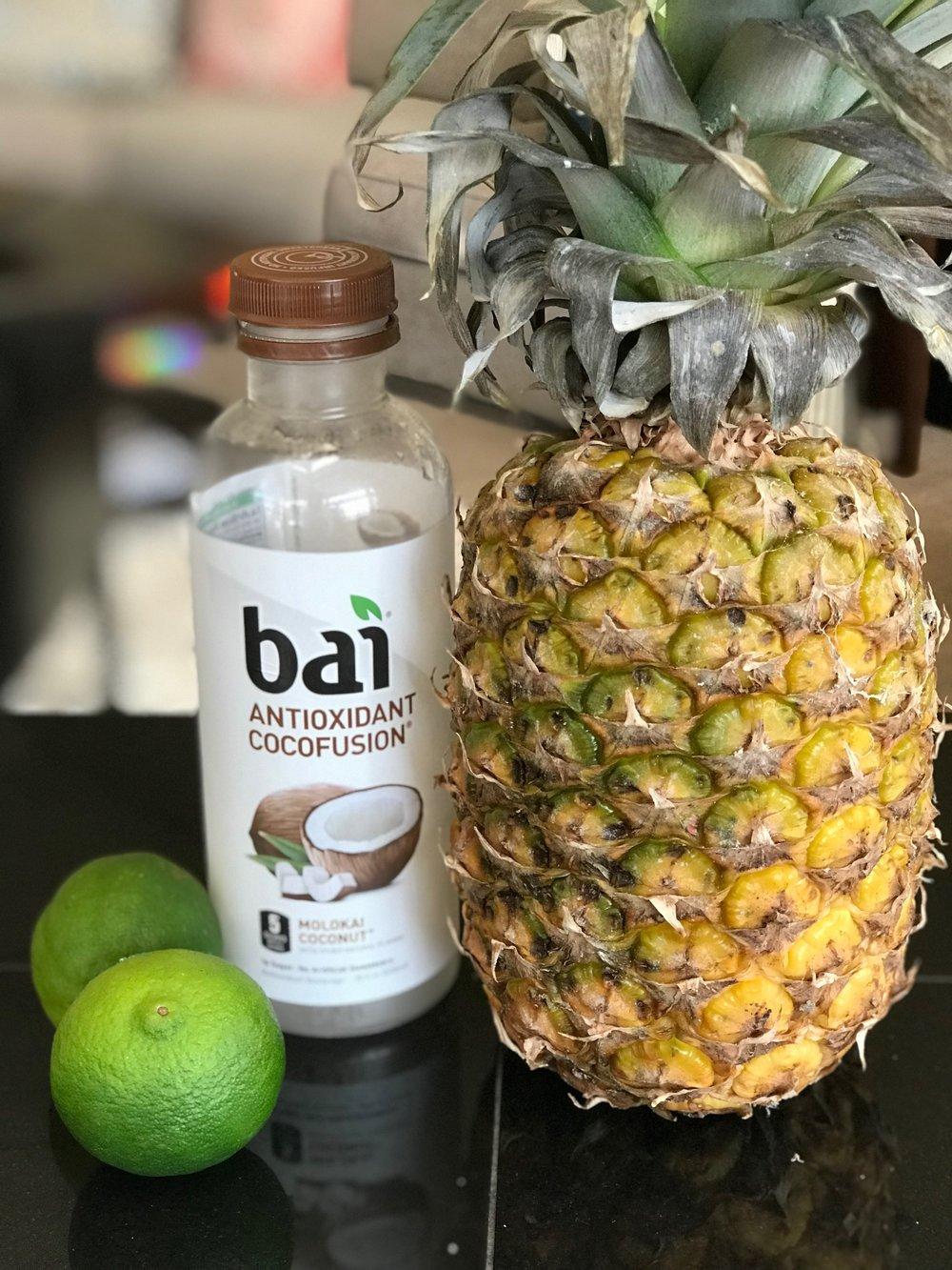 pineapple coconut martini ingredients