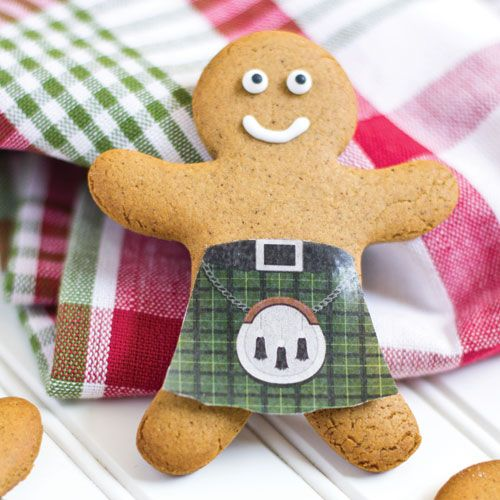 Sottish Gingerbread Man