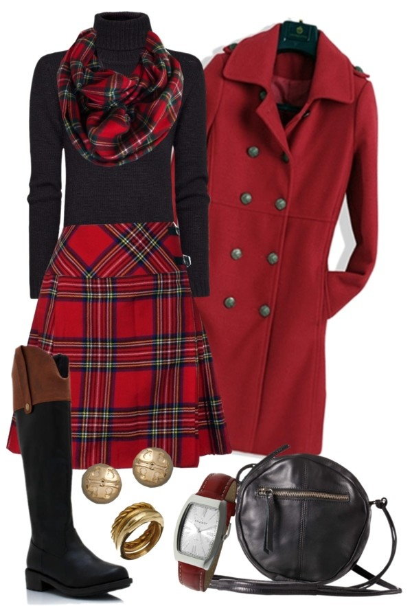 Tartan Holiday Outfits