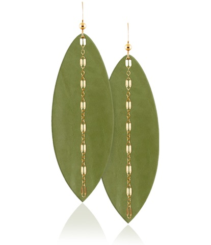 Fern Linked Aha Crafted Earrings