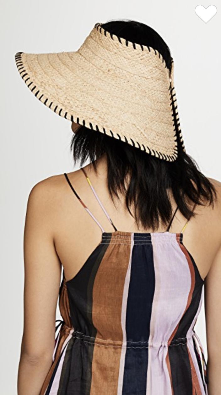 Flat Back Beach Hat
