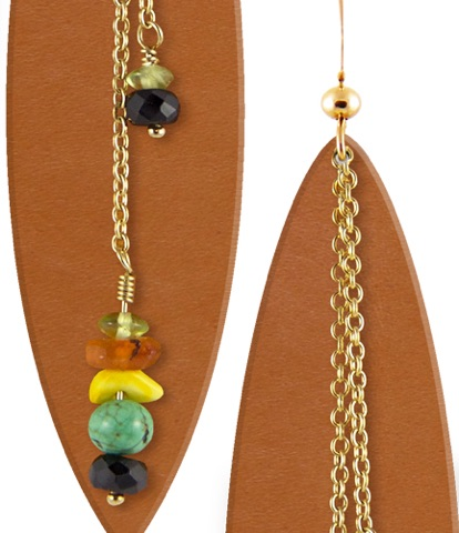 Love these Mexi Cali Leather Earrings? Get them   here .