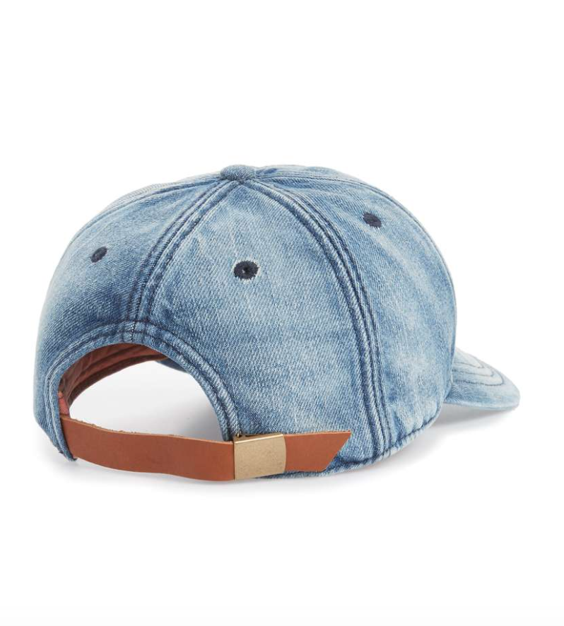 This Made Well Jean Cap is legit my favorite, especially with the touch of tan leather on the back. Get it   here.