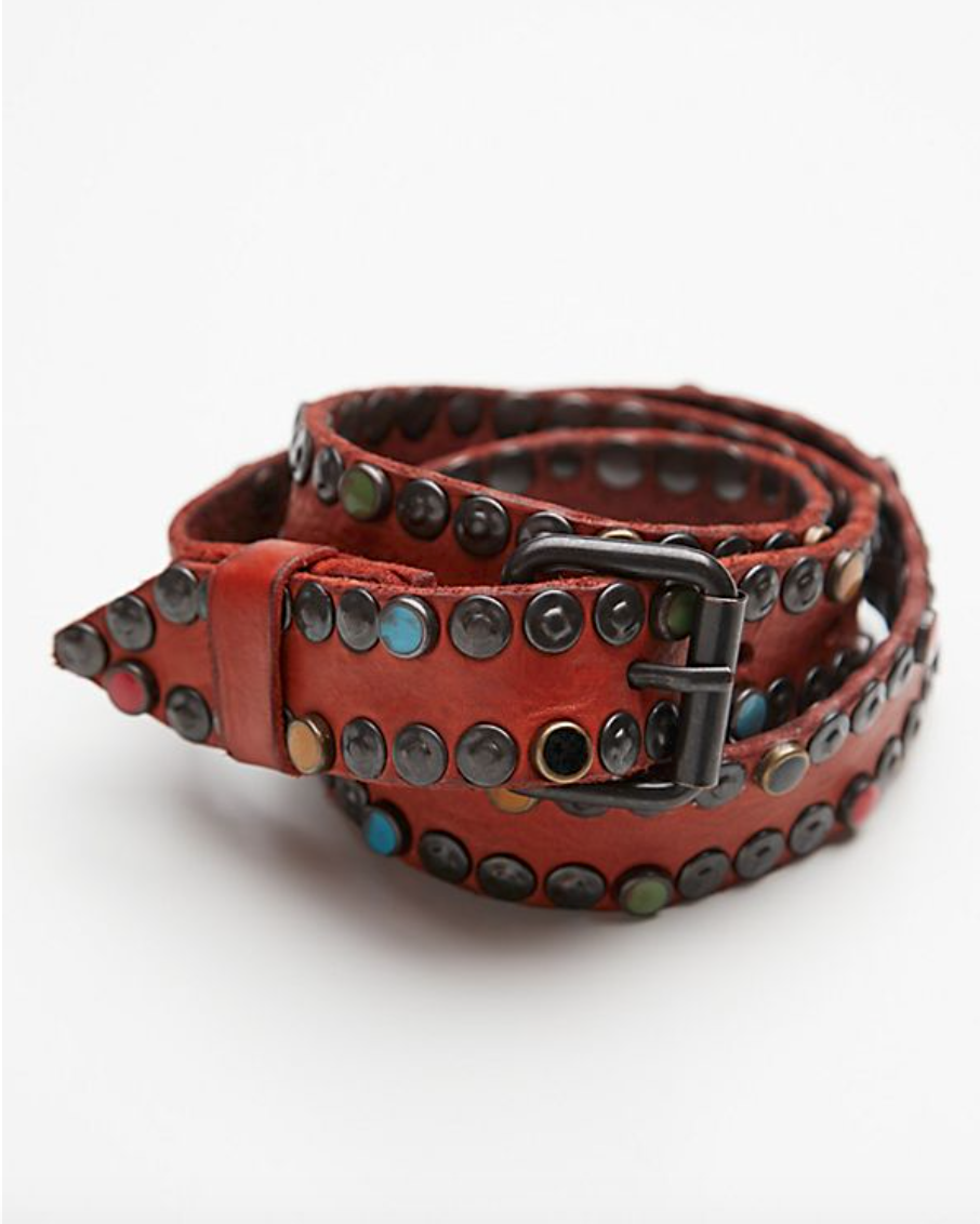 Get this sexy leather belt on   Free People   of course!