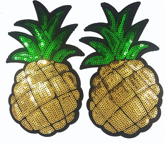 Pineapple Patches from etsy