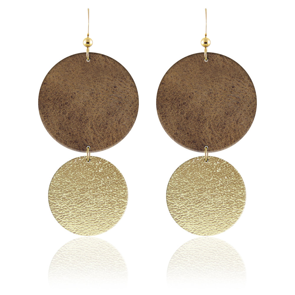 The Halo Leather Earring.jpg