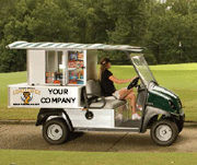 Beverage Cart Sponsorship In Sync Putting For Paws