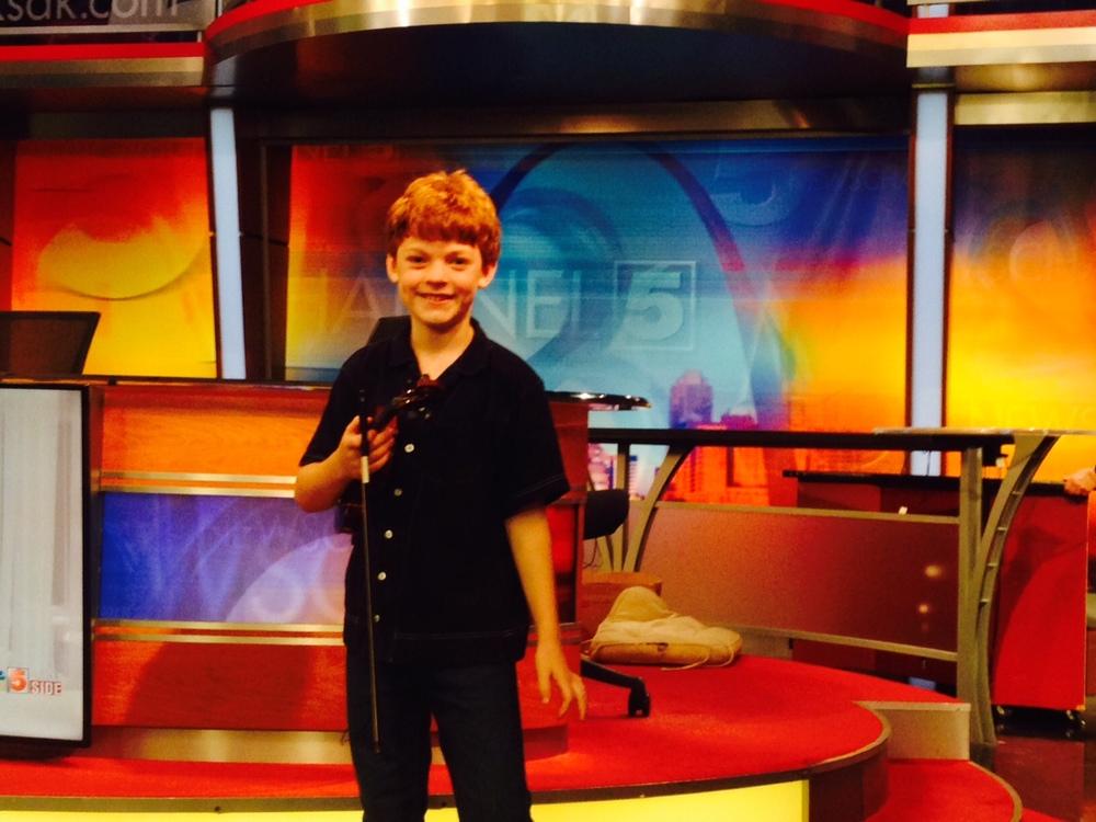 Klaus, age 9