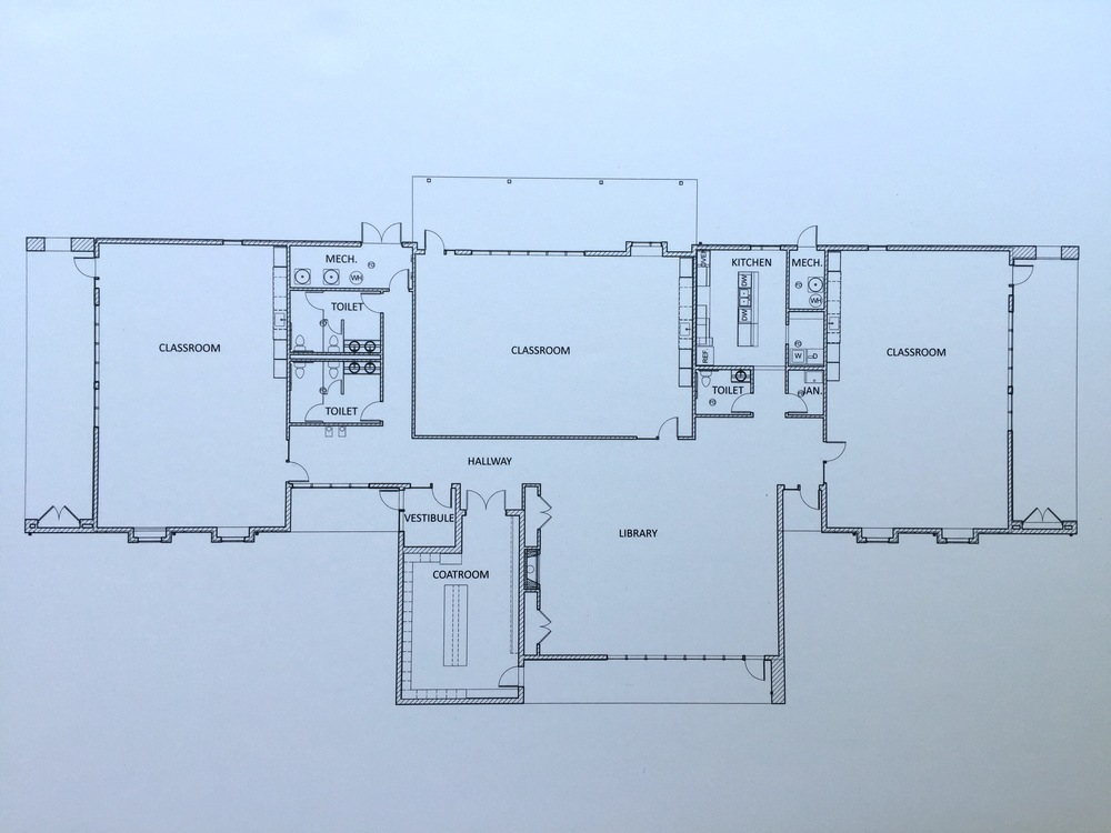 Elementary building- interior